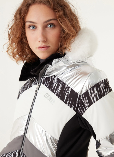 Picture of COLMAR ž bunda 2958F 7VC 209 MOONLIGHT SHADOW SKI JACKET white silver