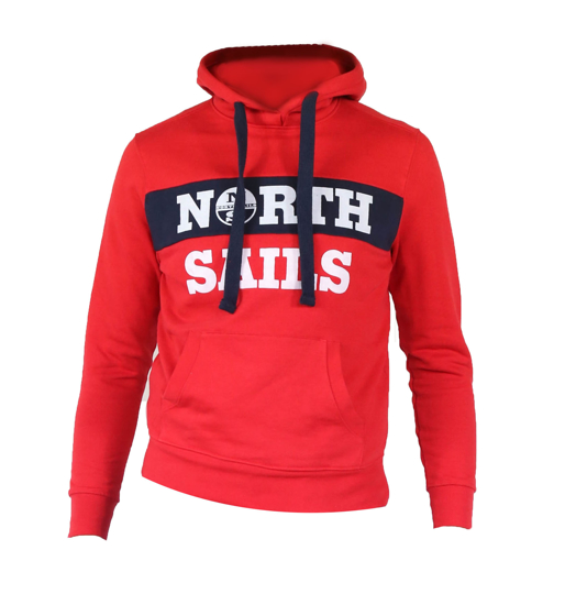 Picture of NORTH SAILS m kapucar 691554 0230 SWEATER LOGO