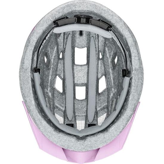 Picture of UVEX kolesarska čelada S41004804 AIR WING CC grey rose mat