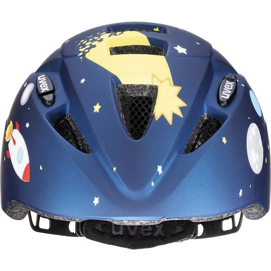 Picture of UVEX otr kolesarska čelada S41498203 KID 2 CC dark blue rocket mat