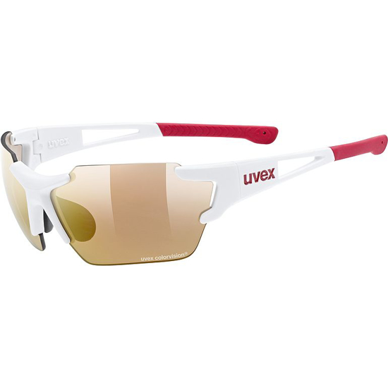 Picture of UVEX kolesarska očala S5320428306 SPORTSTYLE 803 RACE CV V SMALL white mat red