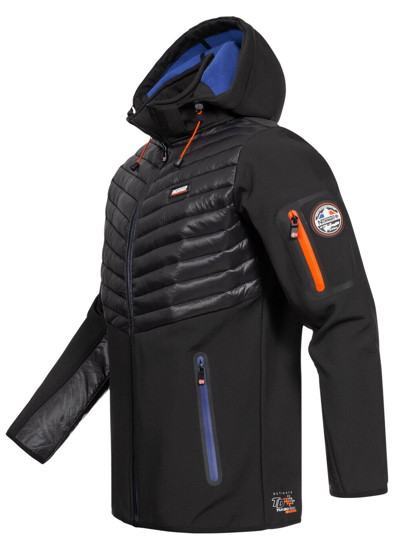 Picture of GEOGRAPHICAL NORWAY m softshell TYLONSHELL black