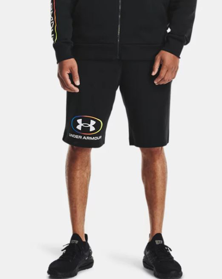 Picture of UNDER ARMOUR m hlače 1361625-001 RIVAL FLEECE LOCKERTAG