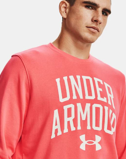 Picture of UNDER ARMOUR m pulover 1361561-690 RIVAL TERRY CREW