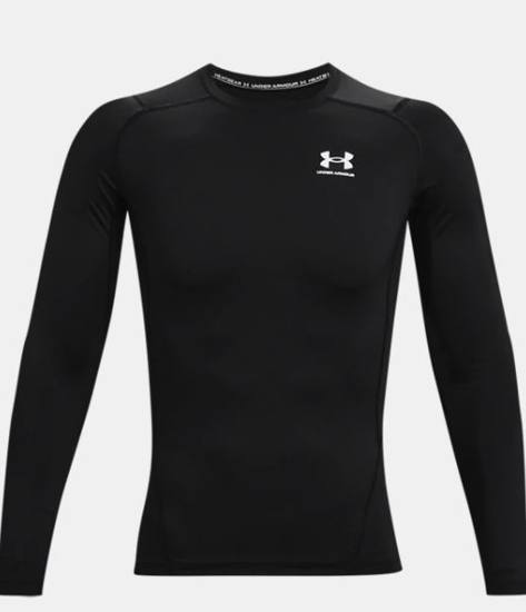 Picture of UNDER ARMOUR m majica 1361524-001 HEATGEAR LONG SLEEVE