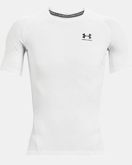 Picture of UNDER ARMOUR m majica 1361518-100 HEATGEAR SHORT SLEEVE