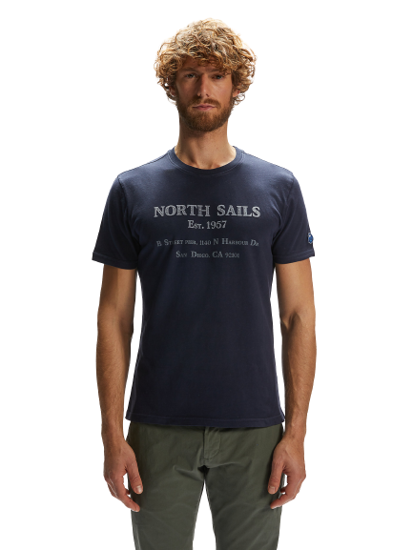 Picture of NORTH SAILS m majica 692741 0802 GRAPHIC T-SHIRT