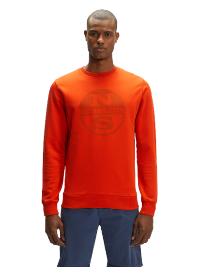 Picture of NORTH SAILS m pulover 691573 0732 ROUND NECK