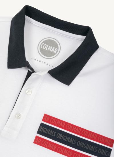 Picture of COLMAR m polo majica 76833UP 01 white