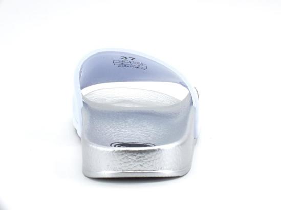 Picture of COLMAR natikači ES21 227 SLIPPER PLAIN white silver