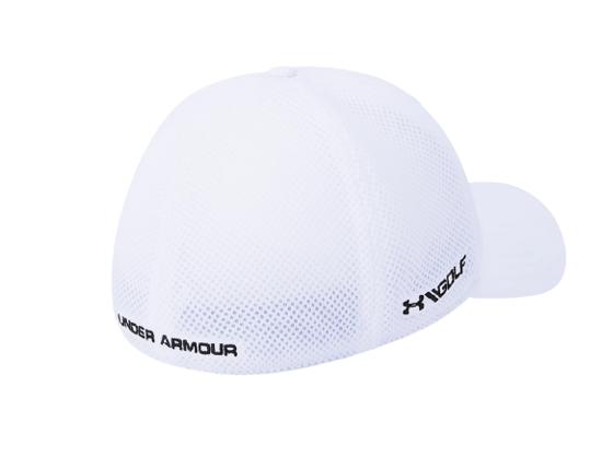 Picture of UNDER ARMOUR m šilt kapa 1305017-100 MICROTHREAD GOLF MESH CAP