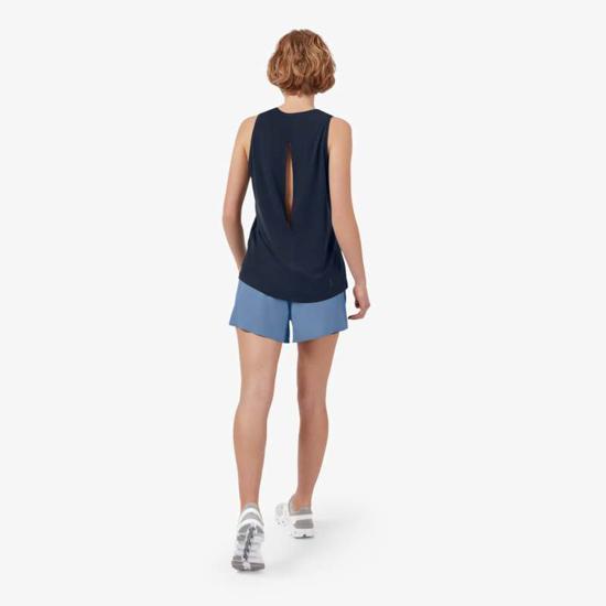 Picture of ON ž hlače 255.00245 RUNNING SHORTS cerulean/black