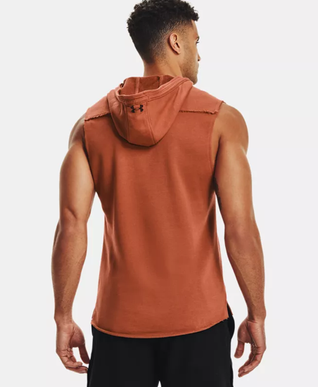 Picture of UNDER ARMOUR m majica 1361744-843 PROJECT ROCK TERRY SLEEVELESS HOODIE