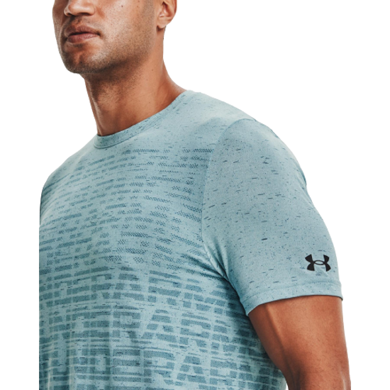 Picture of UNDER ARMOUR m majica 1361134-441 SEAMLESS WORDMARK SHORT SLEEVE