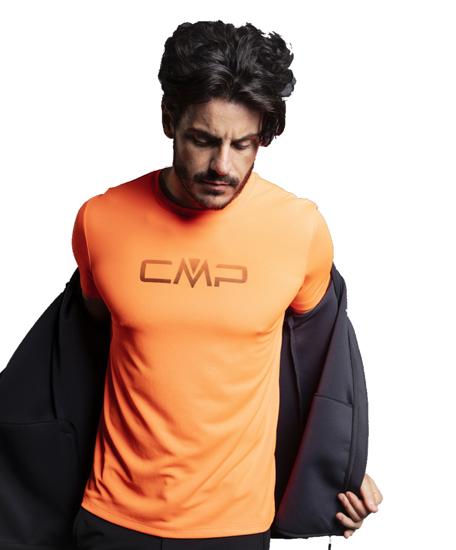Picture of CMP m majica 39T7117P C706 F ORANGE