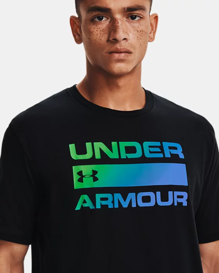 Picture of UNDER ARMOUR m majica 1329582-004 TEAM ISSUE WORDMARK
