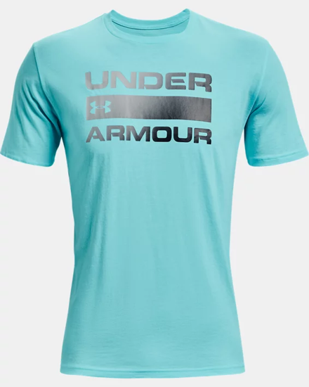 Picture of UNDER ARMOUR m majica 1329582-441 TEAM ISSUE WORDMARK