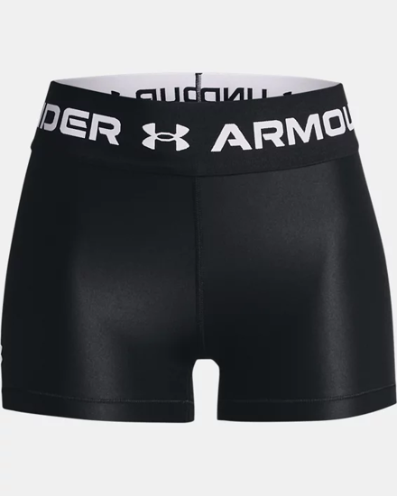 Picture of UNDER ARMOUR ž hlače 1361155-001 HEATGEAR® WORDMARK WAISTBAND SHORTY
