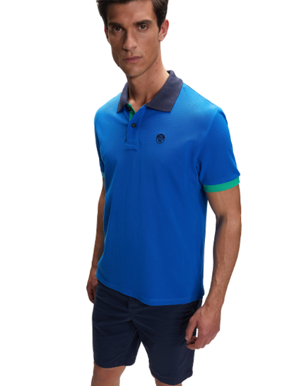 Picture of NORTH SAILS m polo majica 692309 0760 PIQUE POLO SHIRT