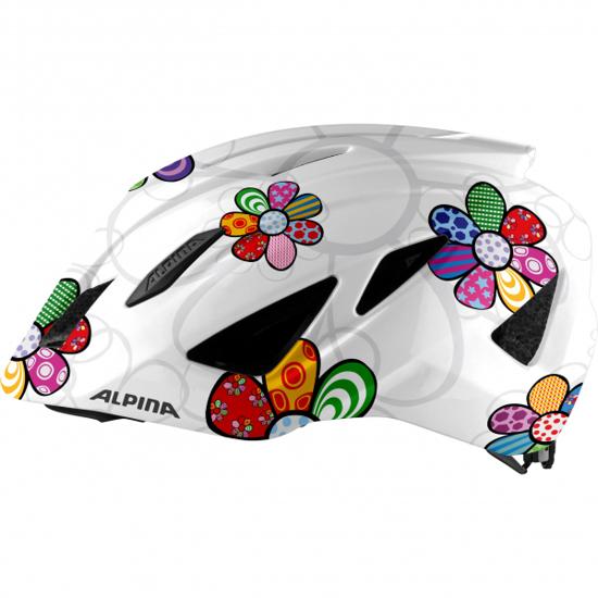 Picture of ALPINA otr kolesarska čelada 0-9761-111 PICO pearlwhite-flower gloss