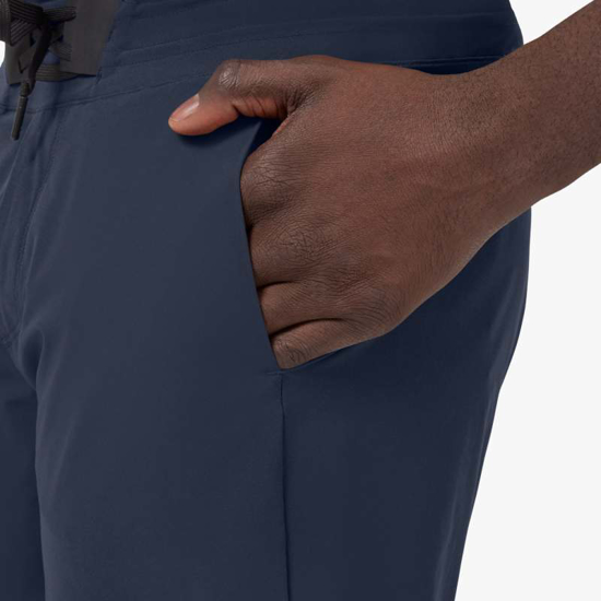 Picture of ON m hlače 185.00304 HYBRID SHORTS navy