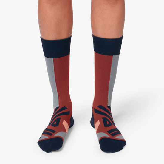 Picture of ON nogavice 322.00073 HIGH SOCK ox/navy