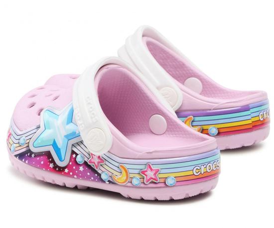 CROCS Flstarbandclog 207075 ballerina pink
