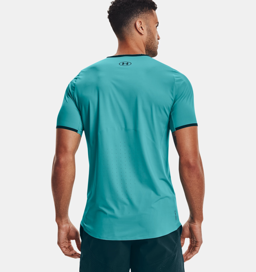 Picture of UNDER ARMOUR m majica 1361424-476 ISO CHILL PERFORATED CHORT SLEEVE