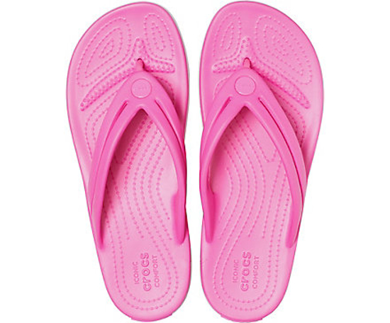 Picture of CROCS crocband flip 206100 electric pink