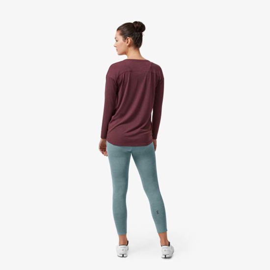 Picture of ON ž majica 223.00162 COMFORT LONG-T mulberry
