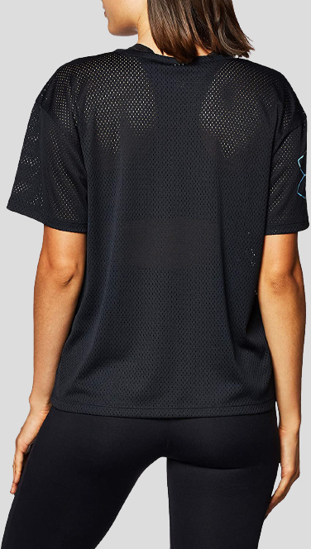 Picture of UNDER ARMOUR ž majica 1363257-001 MESH GEO GRAPHIC T-SHIRT