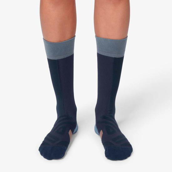 Picture of ON nogavice 322.00074 HIGH SOCK navy/grape