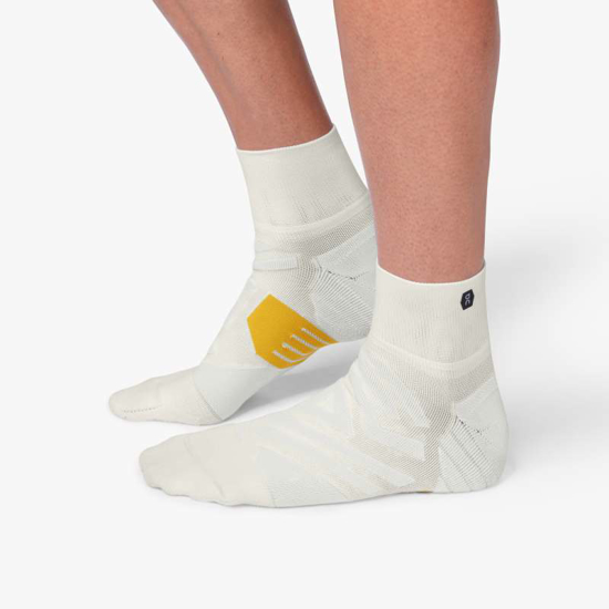 Picture of ON nogavice 312.00068 MID SOCK white/ice