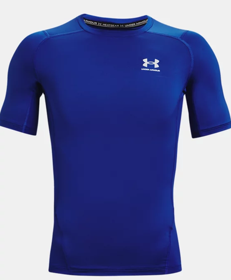 Picture of UNDER ARMOUR m majica 1361518-400 HEATGEAR SHORT SLEEVE