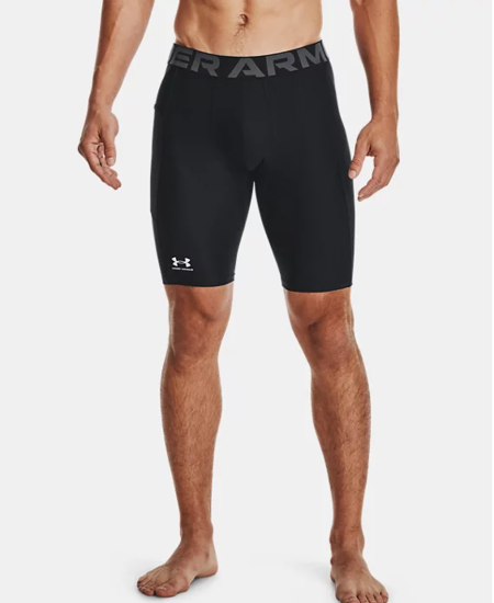 Picture of UNDER ARMOUR m hlače 1361602-001 HEATGEAR POCKET LONG SHORTS