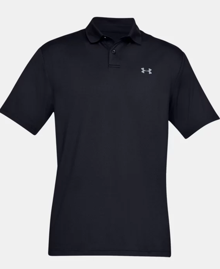Picture of UNDER ARMOUR m golf majica 1342080-001 PERFORMANCE POLO TEXTURED