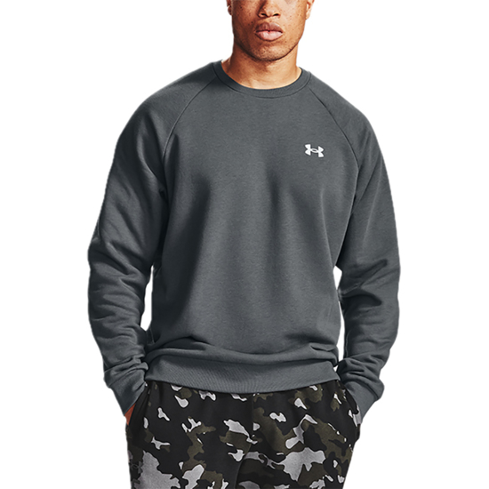 Picture of UNDER ARMOUR m pulover 1357104-012 RIVAL COTTON CREW