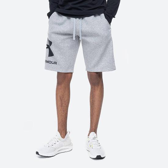 Picture of UNDER ARMOUR m hlače 1357118-011 RIVAL FLC BIG LOGO SHORT