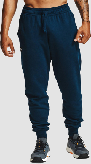 Picture of UNDER ARMOUR m hlače 1357128-408 RIVAL FLEECE JOGGERS