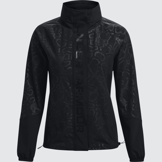 Picture of UNDER ARMOUR ž jakna 1365953-001 RUSH WOVEN PRINT FZ