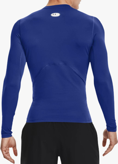 Picture of UNDER ARMOUR m majica 1361524-400 HEATGEAR LONG SLEEVE