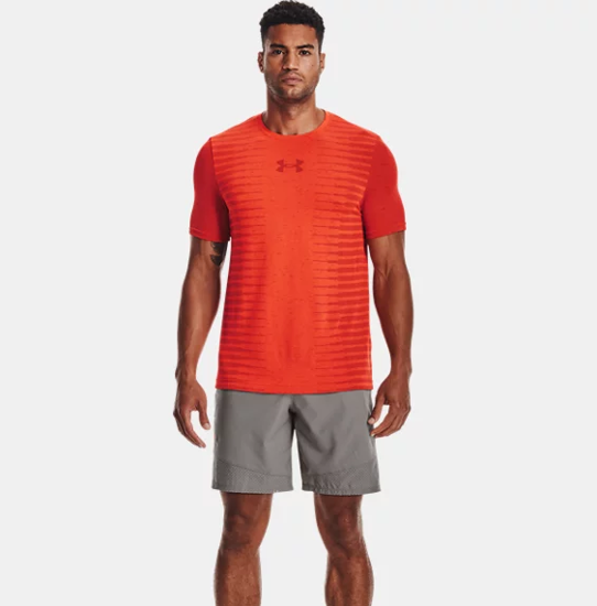 Picture of UNDER ARMOUR m majica 1366148-296 SEAMLESS WORDMARK