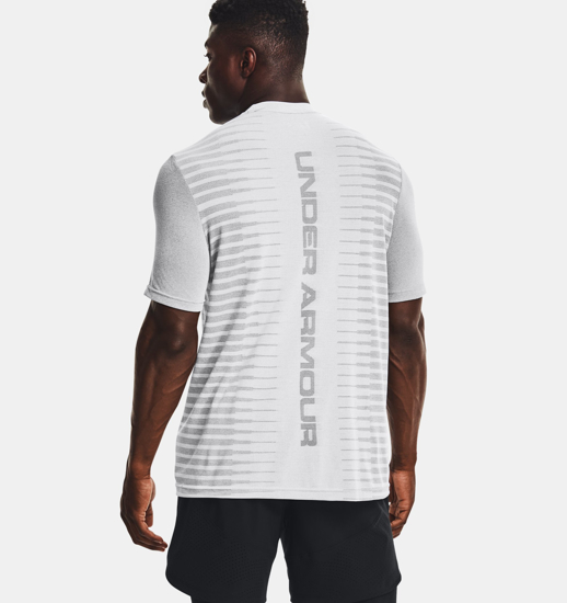 Picture of UNDER ARMOUR m majica 1366148-014 SEAMLESS WORDMARK