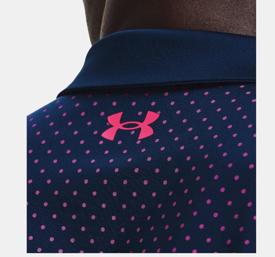 UNDER ARMOUR m golf majica 1361857-409 PERFORMANCE PRINTED