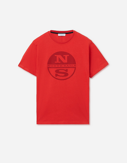 Picture of NORTH SAILS m majica 692752 230 ORGANIC JERSEY T-SHIRT