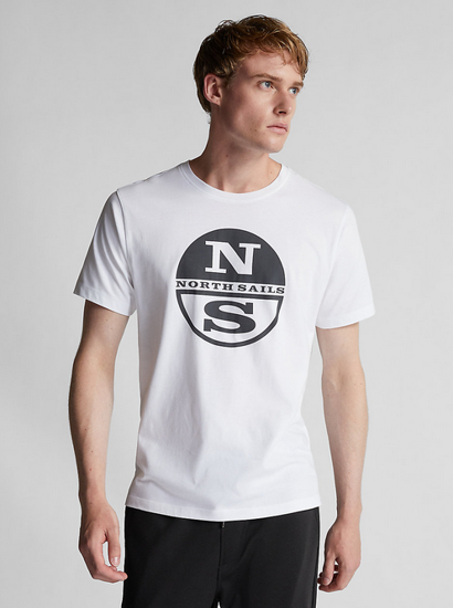 Picture of NORTH SAILS m majica 692752 101 ORGANIC JERSEY T-SHIRT
