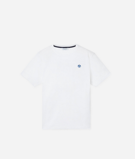 Picture of NORTH SAILS m majica 692750 101 ORGANIC JERSEY T-SHIRT