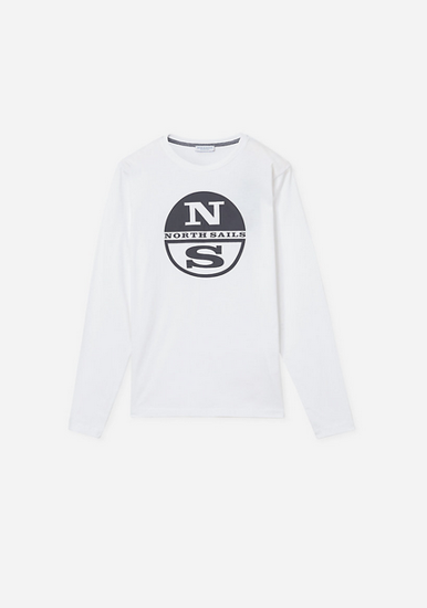Picture of NORTH SAILS m majica 692753 101 ORGANIC JERSEY T-SHIRT