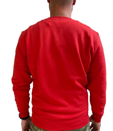 Picture of NORTH SAILS m pulover 691622 230 ORGANIC FLEECE SWEATSHIRT