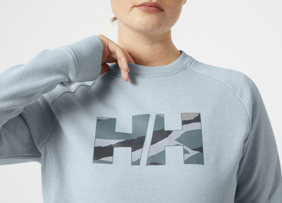 Picture of HELLY HANSEN ž pulover 62935-582 ORGANIC CREW NECK SWEATER
